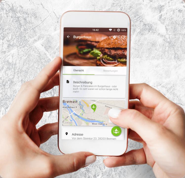 28apps Software GmbH   foodninja gastronomie tool bestellservice softwareentwicklung app-entwicklung bremen
